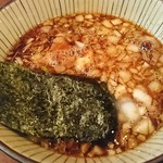 ラーメンつけ麺 笑福 - 特製つけ麺300㌘野菜マシ♪