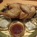 北の味紀行と地酒 北海道 - 『鶏の半身揚げ』980円
