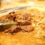 カルータラ - マトンカリーとレンズ豆カリー