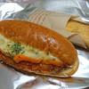 デイリーヤマザキ - 料理写真:タルタルチーズのフィッシュフライドッグ