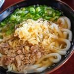 Tachibanaudon - 肉うどん