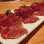 72632707 - 神戸牛の生ハム 寿司スタイル