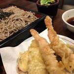 天ぷら ふそう  - 8月利用  天ざる 980円