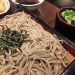 天ぷら ふそう  - ざるそば