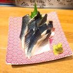 魚河岸酒場 FUKU浜金 - 〆コハダ刺身 580円