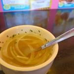 スーパーモンスター カフェ - セットのスープ
