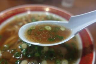 中華そば山冨士 - ☆醤油スープ(*^^)v☆