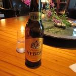 Tan's bar - 甘いのが苦手な先輩は此処でもエビスビールを注文してましたよ。