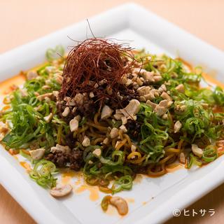 他店では味わうことの出来ない、創作中華料理を堪能