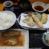 天ぷら 筧 - 料理写真:天ぷらとさば味噌煮