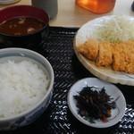 志乃ぶ - とんかつ定食ランチ
