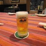 居酒屋なまず - 生ビール