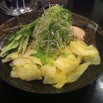 ばくだん屋 広島駅新幹線口店 - つけ麺の麺並