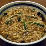 さんぽう亭 - 生碼麺(サンマー麺) 598円