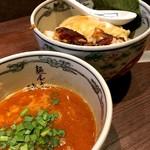 麺屋武蔵 神山 - 辛神山つけ麺(1,180円)