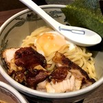 麺屋武蔵 神山 - 辛神山つけ麺の麺