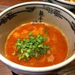 麺屋武蔵 神山 - 辛神山つけ麺のつけ汁