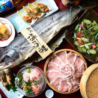 毎朝市場より仕入れるその日1番の鮮魚☆