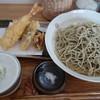 手打ちそば 弥兵衛 - 料理写真:天もり蕎麦