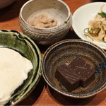 ぐあん - 定食の小鉢
