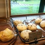 滝川パン - チョコ白パン