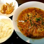 昭和焼飯店 - 坦々麺ランチ:850円