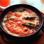 キナリカフェ+ザッカ - オクラとベーコンのドリア