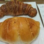 ハートブレッドアンティーク - クロワッサンと塩パン