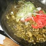 めし処 月の魚 - 高菜そば