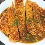 めし処 月の魚 - カツカレー