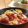 なっぱ畑 - 料理写真:自家製トマトソースのオムライス