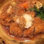 大戸屋 - チキンかあさん煮アップ