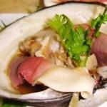青葉 - ホッキ貝のナンプラー風味 980円