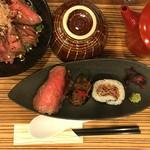 佰食屋肉寿司専科 - おすすめ定食