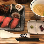 佰食屋肉寿司専科 - 肉寿司定食