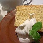 CAFE AFF - ゆずのシフォンケーキ
