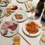 sun-mi 高松 - 立食の大皿からピックアップ