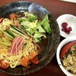 中華料理 龍 - 冷麺セット