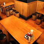 りんぐ - 別空間のテーブル席