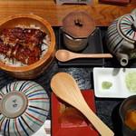 うなぎ 徳 - ◆ランチセット(花:1980円)に、プラス料金108円で「茶碗蒸し」を付けて。