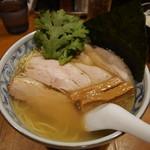 鯛だしそば・つけ麺 はなやま - 料理写真:鯛だし塩そばのチャーシュー
