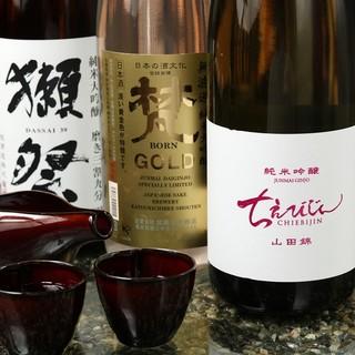 和食の味を引き立て、しっかりとした存在感を放つ日本酒
