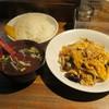 中華屋 啓ちゃん - 料理写真:木耳卵定食1