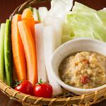 うま馬 - 新鮮野菜のざる盛