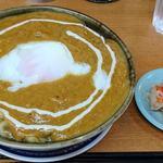 ナマステ・ネパール - NAMASTE NEPAL @板橋本町 カレーうどん 500円 + 半熟たまご 50円(共に税込)