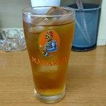 ナマステ・ネパール - NAMASTE NEPAL @板橋本町 食後にサービスで頂いたアイス烏龍茶