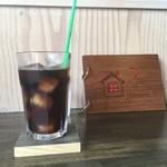 古本屋 カフェ サニーハウス - アイスコーヒー