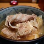 個室×地鶏串屋 園の子 - 肉豆腐アップ