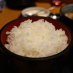 個室×地鶏串屋 園の子 - 御飯アップ