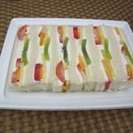 千疋屋総本店 - フルーツサンドイッチ 1188円